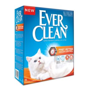 lovecats-Ever Clean Fast Acting Odour Control 6lt