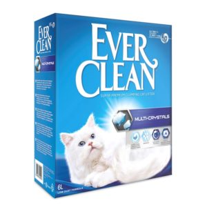 lovecats-Ever Clean Multi Crystals 6lt