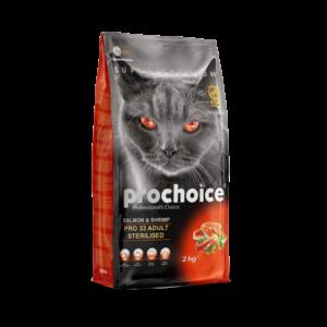 lovecats-Prochoice Adult Sterilized Salmon & Shrimp 2kg