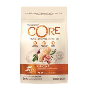lovecats-Wellness Core Adult Original Turkey & Chicken 300gr