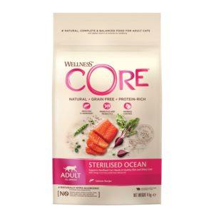 lovecats-Wellness Core Adult Sterilized Ocean Salmon 4kg