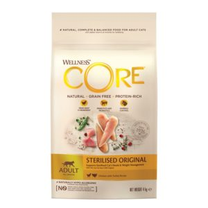 lovecats-Wellness Core Adult Sterilized Original Chicken & Turkey 4kg
