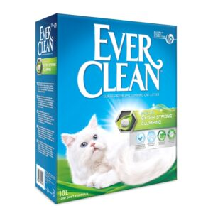 lovecats ever clean extra strong clumping scented 10lt