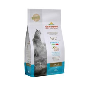 lovecats almo nature hfc adult sterilized fresh cod 1.2kg