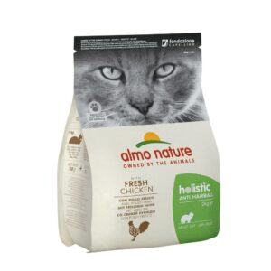 lovecats almo nature holistic anti hairball fresh chicken 2kg