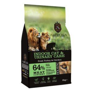 lovecats ambrosia indoor & urinary care fresh turkey & chicken