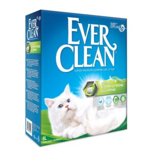 lovecats ever clean extra strong clumping scented 6lt