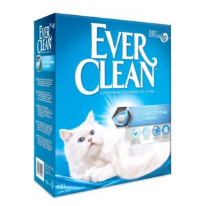 lovecats ever clean extra strong clumping unscented 10lt