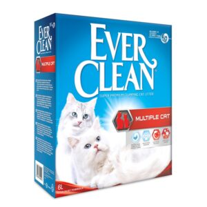 lovecats ever clean multiple cat 6lt