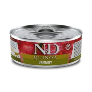 lovecats farmina n&d quinoa urinary duck 80gr