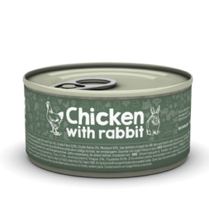 lovecats naturea chicken with rabbit 85gr