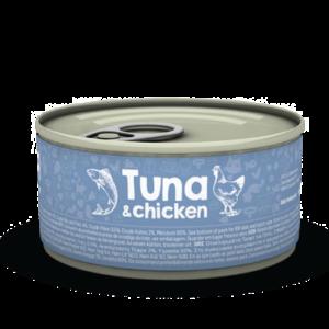 lovecats naturea tuna & chicken 85gr