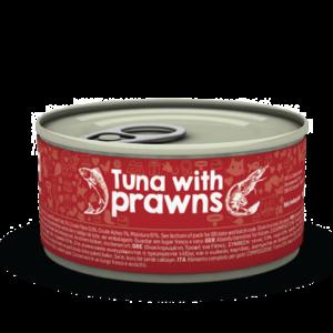 lovecats naturea tuna with prawns 85gr