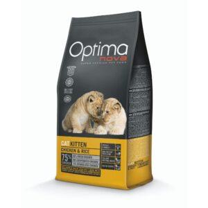 lovecats optima nova kitten chicken & rice 2kg