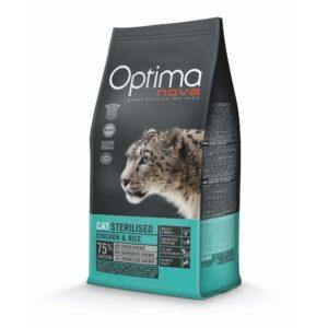 lovecats optima nova sterilized chicken & rice 2kg